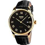 SKMEI Business Men's Quartz Wristwatches Roman...