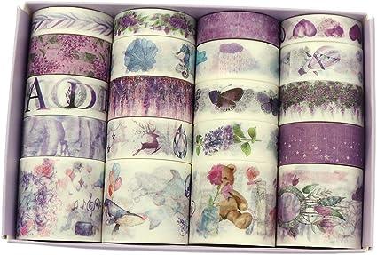 Butterflies planner washi tape sample 18