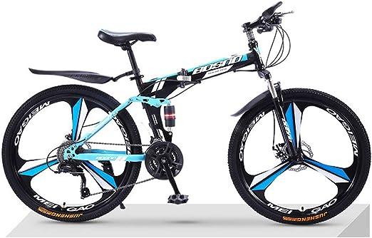 TATANE Plegable Bicicleta De Montaña, Adulto De 24 Pulgadas 26 ...