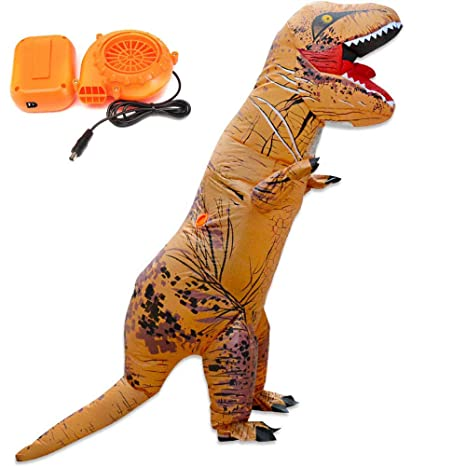 Amazon.com: Autek Jurassic World Inflatable Dinosaur Costume ...