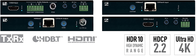 dfe19123a365 Amazon.com  Key Digital KD-X422POA Power over HDBaseT HDMI via CAT5e 6  Extenders