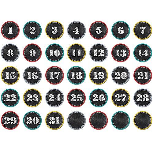 - Creative Teaching Press Chalk It Up! Calendar Days (6896)