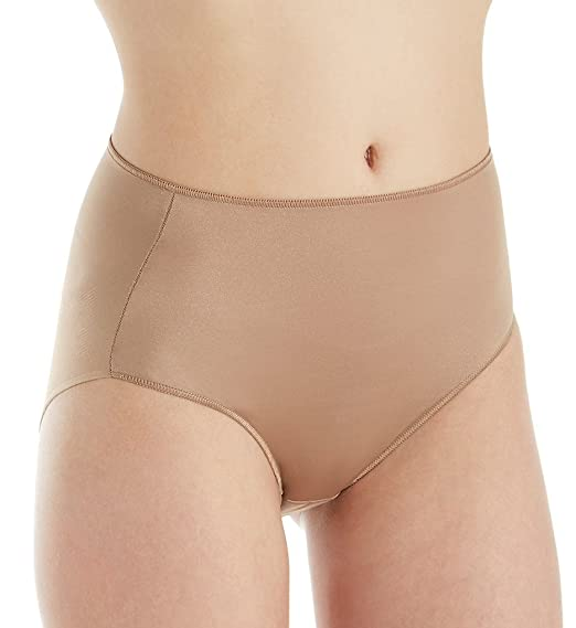 TC Fine Intimates Microfiber Wonderful Edge Brief Panty (A405) at Amazon Womens Clothing store: Briefs Underwear