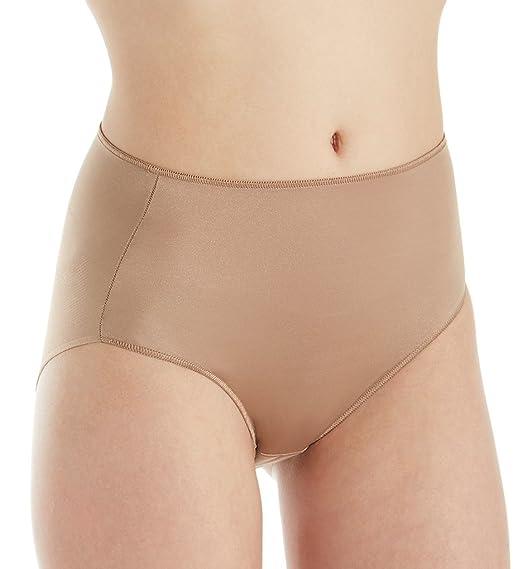 TC Fine Intimates Microfiber Wonderful Edge Brief Panty (A405) at Amazon Womens Clothing store: Briefs Underwear