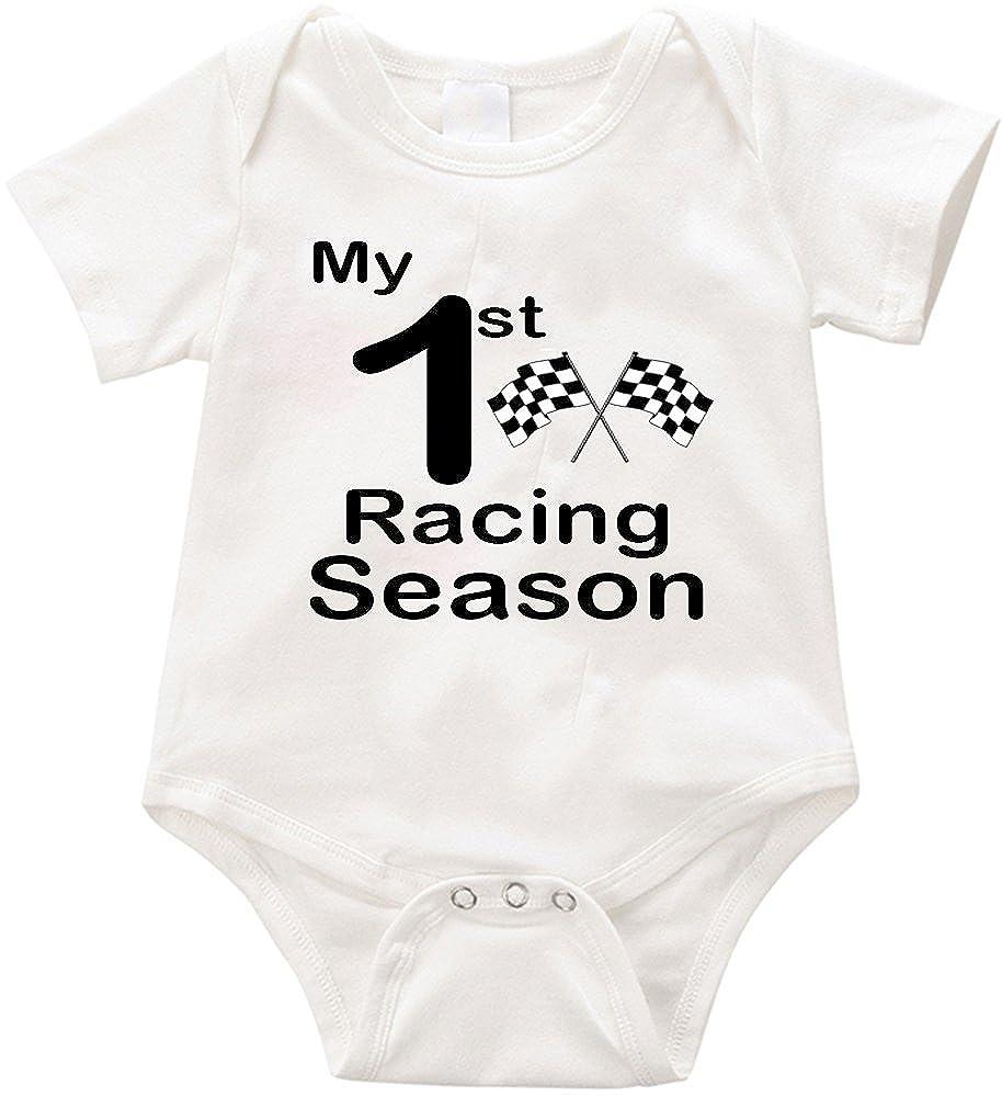 VRW My First Racing Season Unisex Romper Bodysuit