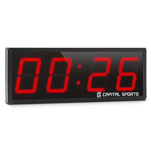 2 opinioni per Capital Sports Timeter 2.0 cronometro digitale (timer sportivo, montaggio a