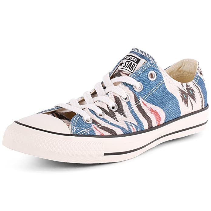 Converse Chuck Taylor (Chucks) All Star Ox Low Top Sneaker Unisex-Erwachsene Bunt