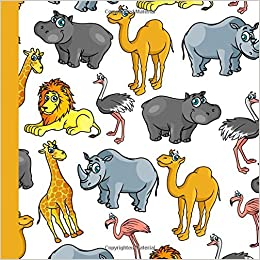 Safari Zoo Birthday Party Guest Book Beautiful