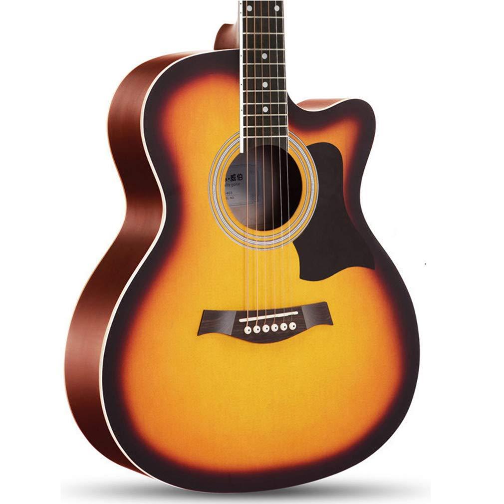 LYNNDRE Aprender A Tocar La Guitarra Acústica De Caoba, Kit De ...
