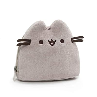 "GUND Pusheen Plush Zip-Up Case, 6.5"": Toys & Games"