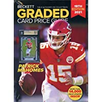 Beckett Annual Graded Card Price Guide 2021 19th Edition Chiefs Patrick Mahomes photo