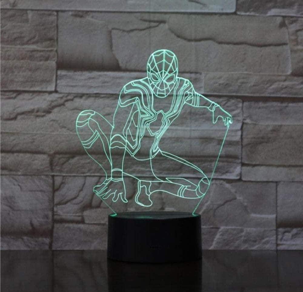 Lámpara 3D Lava Night Light Led Bulb Flash Kid Toy Regalos para niños Decoración para el hogar
