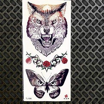 HXMAN 5 Unids 19x9cm Lápiz Dibujo Dibujo Temporal Tatuaje Negro ...
