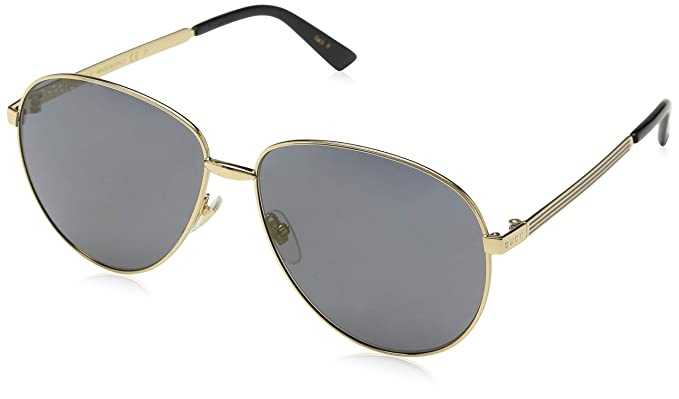 e387ee46fbd Image Unavailable. Image not available for. Colour  Gucci Unisex s GG0138S 006  Sunglasses ...