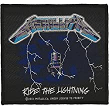 Metallica Ride The Lightning Patch Black