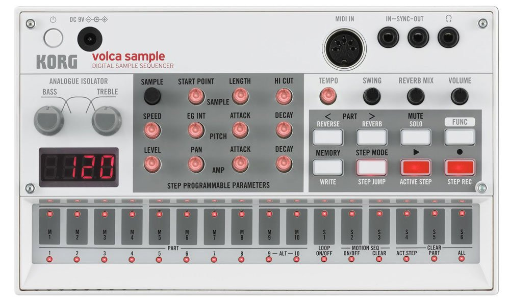 Korg VOLCASAMPLE Sample Playback Rhythm Machine by Korg (Image #2)