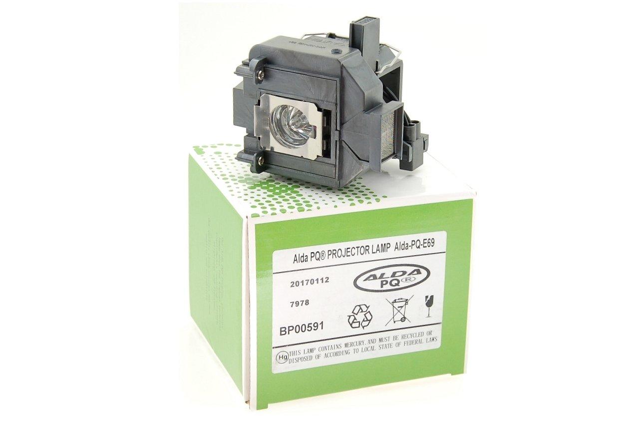 Alda PQ-Premium, lampada abbagliante / lampada di ricambio compatibile per EPSON EH-TW9200, EH-TW7200, EH-TW9200W, EH-TW9000 Proiettori, lampada con alloggiamento 143678