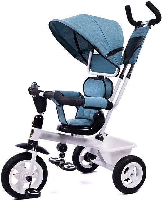 Qi Tai- Carrito de bebé Triciclo de niños Bicicleta Bebé Bicicleta ...