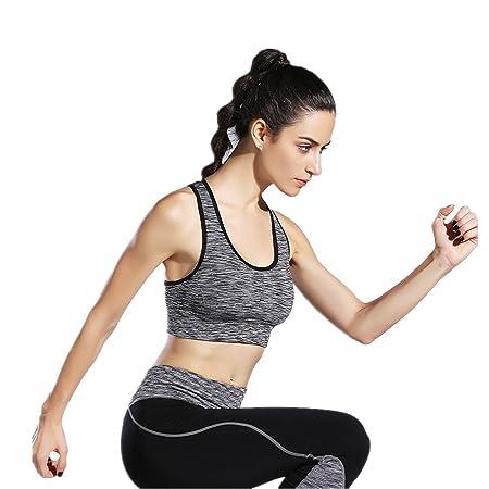 Dfghbn Sujetador Deportivo para Mujer Yoga Bra Sudoración ...