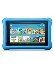 "Fire 7 Kids Edition Tablet, 7"" Display, 16 GB, Blue Kid-Proof Case (Previous Generation - 7th)"