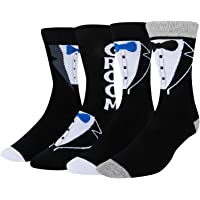 HAPPYPOP Wedding Socks Funny Groom I Do Father of Bride Groom Best Man Tuxedo Engaged Gift