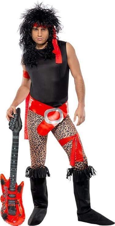 Smiffy's Men's Super Rock Star Costume -  Two Sizes