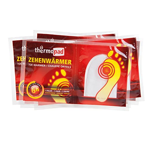 30 opinioni per Thermopad, Set di adesivi scalda-piedi, 5 paia