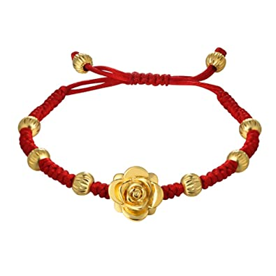 evil amulet red bracelet kabbalah beaded necklace eye string dsc
