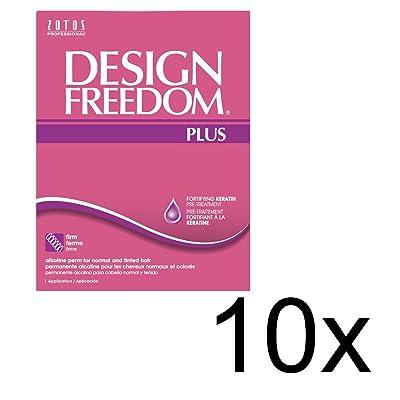 10xDESIGN FREEDOM PLUS ALKALINE PERM SP-968972x10
