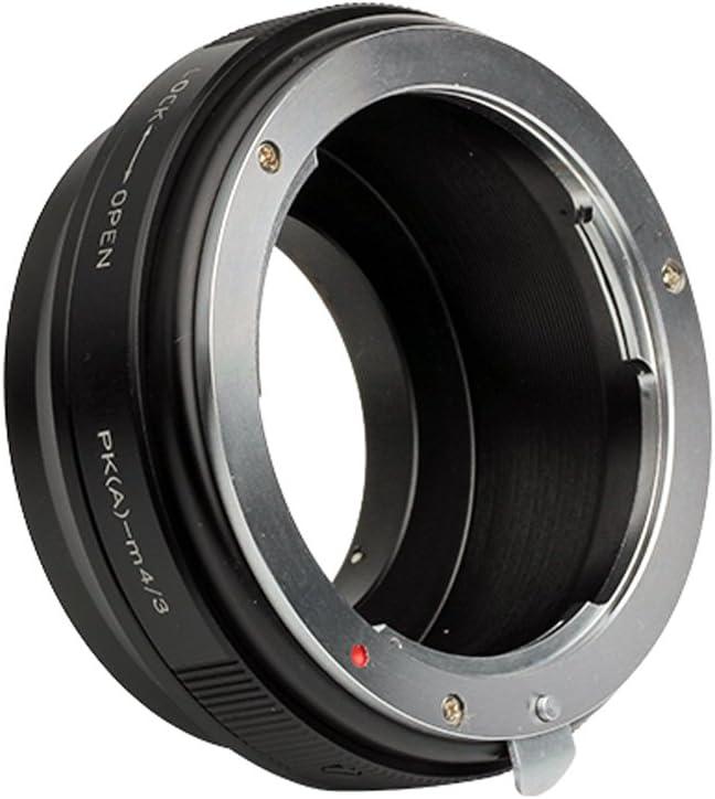 Pixco Lens Adapter Suit for Pentax K DA Lens to Micro Four Thirds Olympus OM-D E-M10 III E-M1 II E-M10 II E-M5 II E-M1 E-M5 E-M10