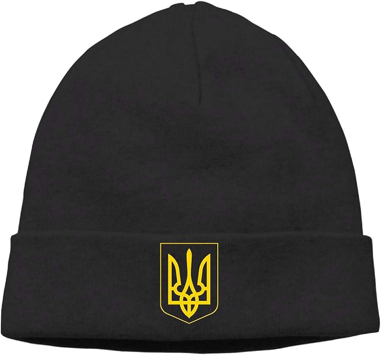 Retro-Feel Ukrainian Coat of Arms Unisex Sport Hipster Beanie Cap/&Hip-hop Cap/&Set Head Cap/&Skull Cap/&Toboggan Cap bikini bags Ukraine Pride Vintage Style