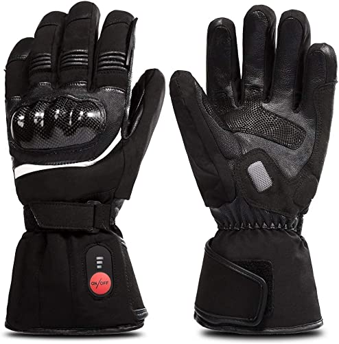 SAVIOR HEAT Motorcycle Gloves for Men and Women