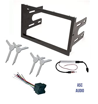 61dgXJD8bsL._SY355_ amazon com asc audio car stereo dash kit, wire harness, antenna  at alyssarenee.co