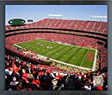 "Arrowhead Stadium Kansas City Chiefs Photo (Size: 12"" x 15"") Framed"