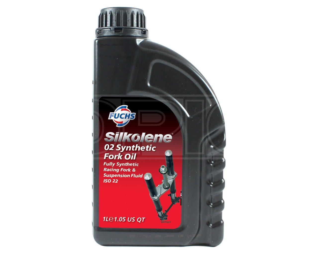 Silkolene Silk 02 Syn Fork Fluids 1Lt 600757588