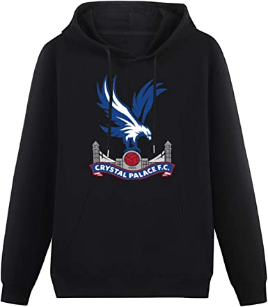 UnisexSweatshirt Crystal Palace Long Sleeve Pullover Loose Hoody Sweatershirt with HoodedTop