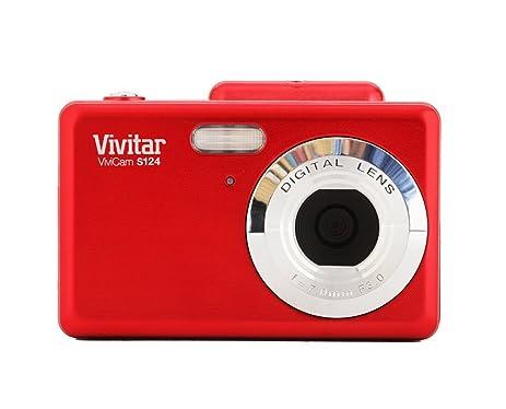 Amazon.com : Vivitar VS128 16.1 MP ViviCam iTwist Digital Camera ...