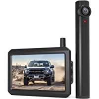 AUTO-VOX TW1 Truly Wireless Backup camera, 5Mins DIY Installation, 720P Super Night Vision Rear View Camera and 5'' LCD…