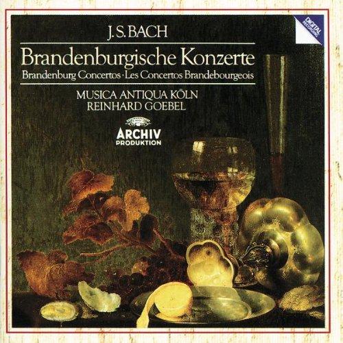 Price comparison product image Bach: Brandenburg Concertos/Brandenburgische Konzerte/Los Concertos Brandebourgeois