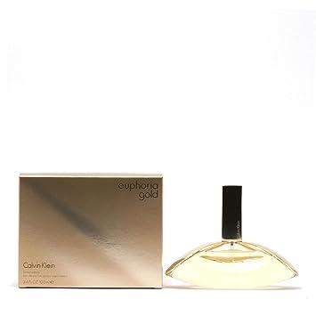 26fc1297f Liquid Gold Euphoria by Calvin Klein for Women - Eau de Parfum, 100 ...