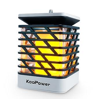 Koopower Solarleuchten Aussen Solar Batterien Aussenleuchte