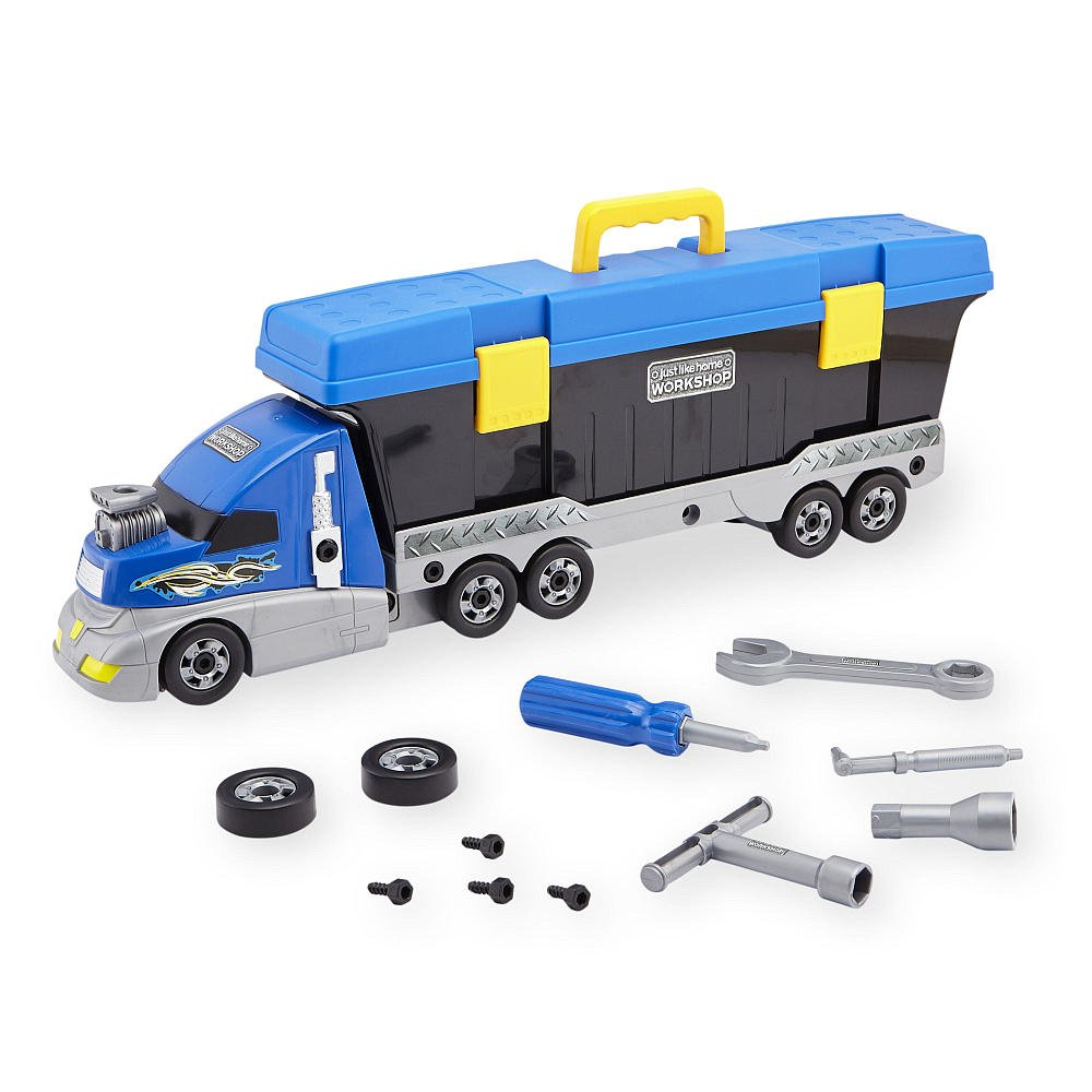 Just Like Home Workshop Build Your Own Truck Tool Set Toys r us