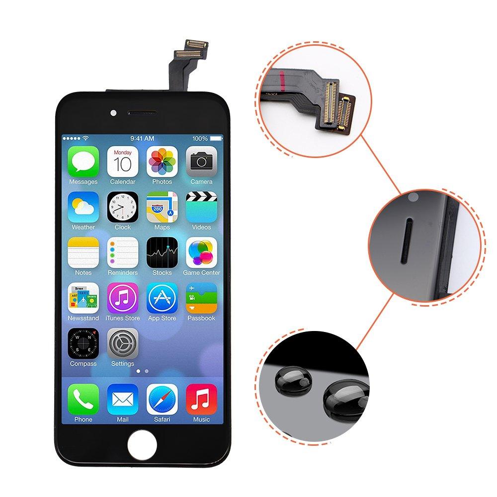 Pantalla táctil de repuesto para pantalla LCD, para iPhone 6 (4,7 pulgadas) y montaje digitalizador: Amazon.es: Electrónica