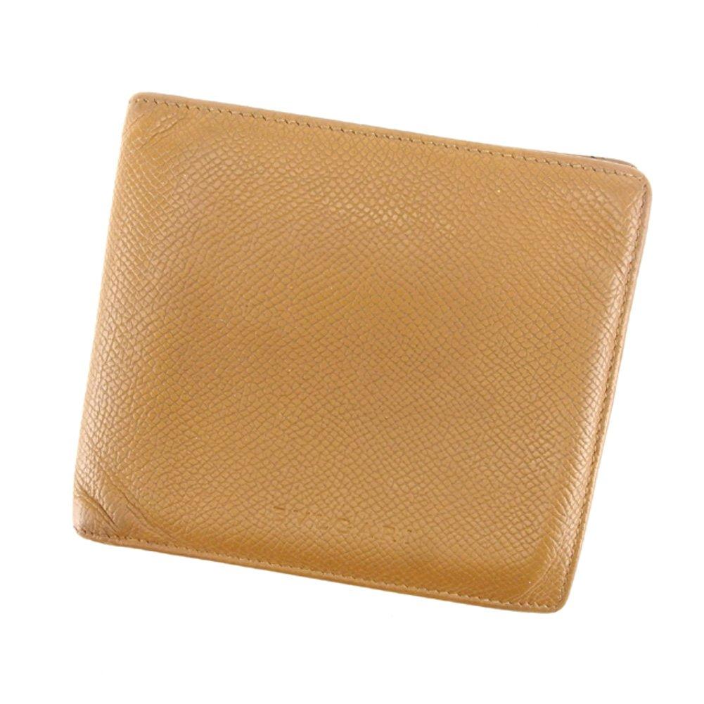 (ブルガリ) Bvlgari 二つ折り 財布 ベージュ クラシコ メンズ 中古 T6843   B07CJLYGXS