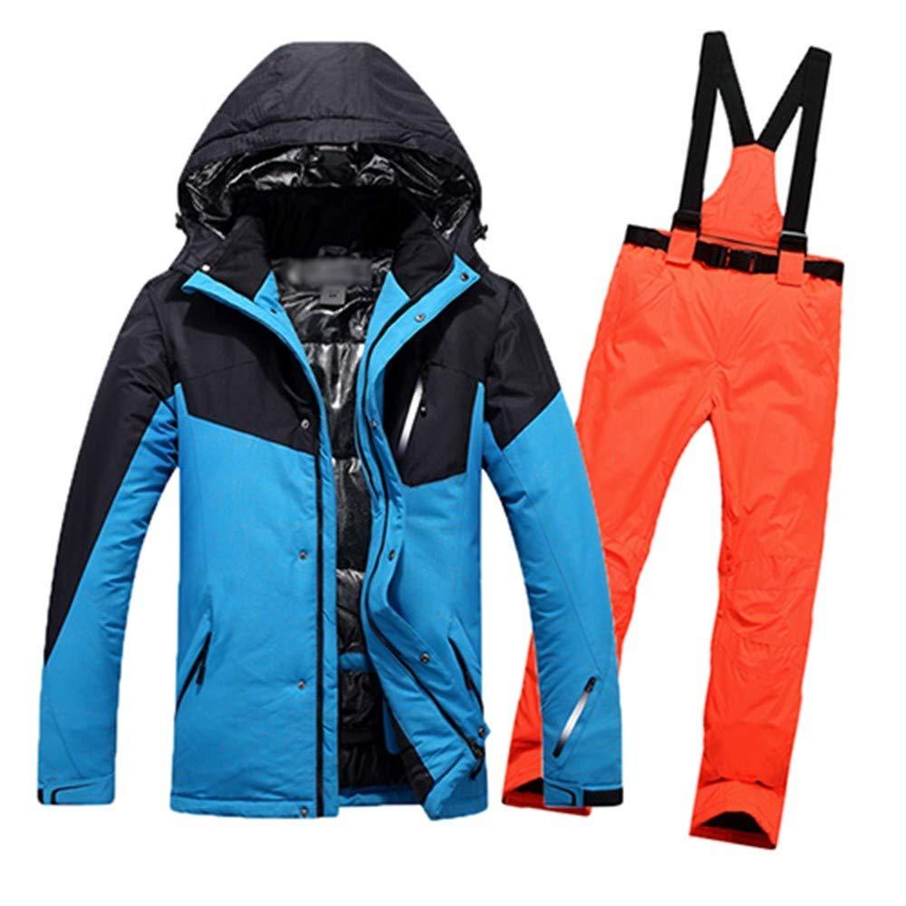 ZLULU Tuta Da Sci Pantaloni da Sci Sci Sci da Uomo Impermeabili Pantaloni da Snowboard Termici Pantaloni da Montagna E Snowboard Inverno Neve Vestiti Set, XLB07MGQBSZTL | Design Accattivante  | Prese tedesche  | scarseggia  | Servizio durevole  | Alta qualità 435167