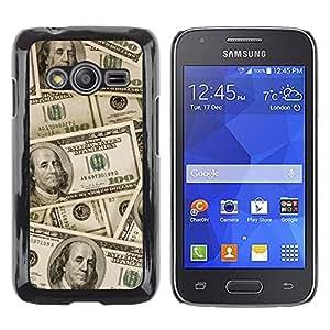 Print Motif Coque de protection Case Cover // V00001704 dinero // Samsung Galaxy Ace4 / Galaxy Ace 4 LTE / SM-G313F