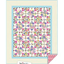French Garden Quilt Pattern by Swirly Girls Designs