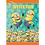 Unique Minions Despicable Me - Invitations