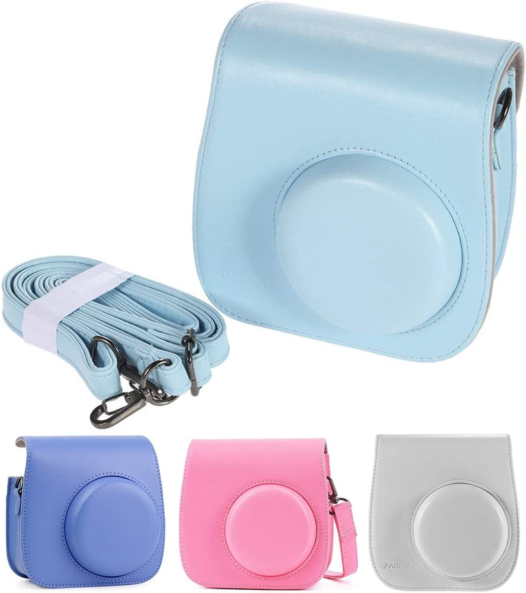 Topsale-ycld Camera Cover Shoulder Bag Case for Fujifilm Instax Mini 8//8+ 9 Instant Polaroid Camera Color : Dark Blue