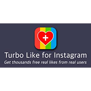Turbo Like for Instagram - get more free real likes on photos and videos to boost followers and likers: Amazon.es: Appstore para Android